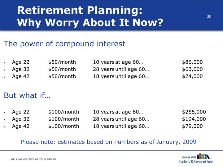 Retirement Planning: