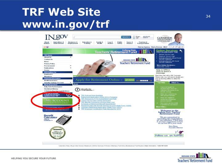 TRF Web Site