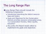 the long range plan3