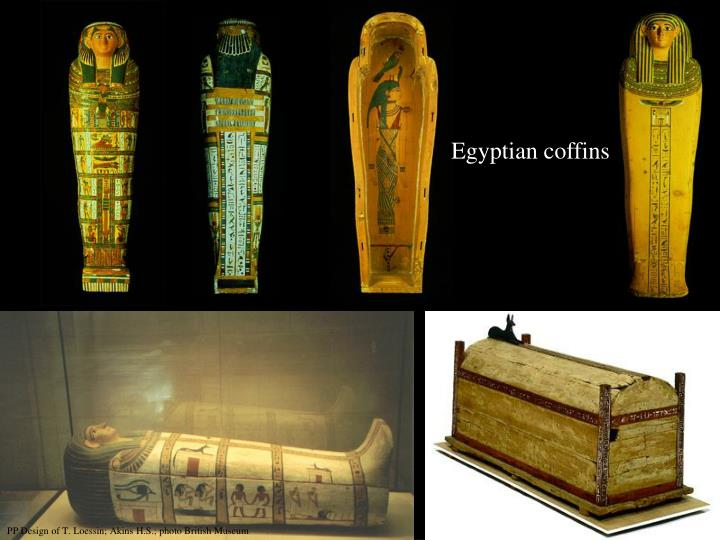 Egyptian coffins