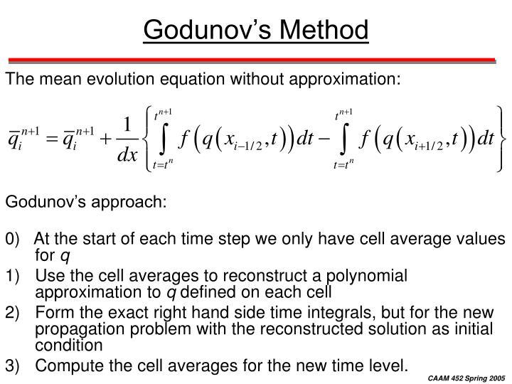 Godunov's Method
