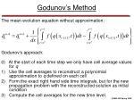 godunov s method