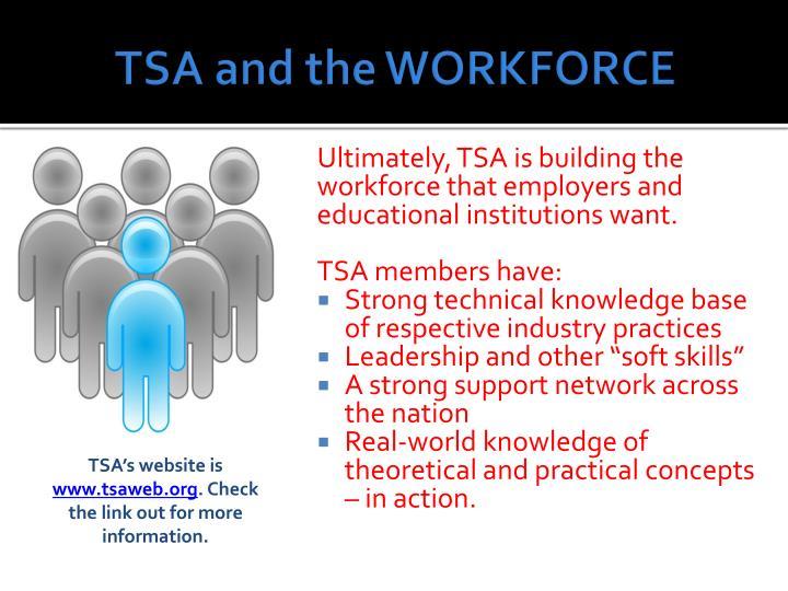 TSA and the WORKFORCE