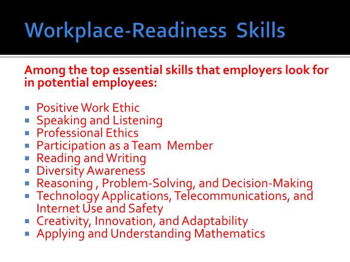 Workplace-Readiness  Skills
