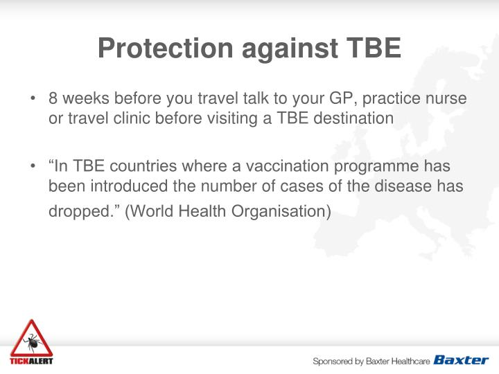 Protection against TBE