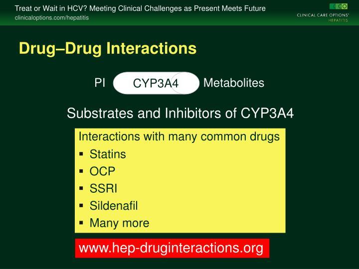 Drug–Drug Interactions