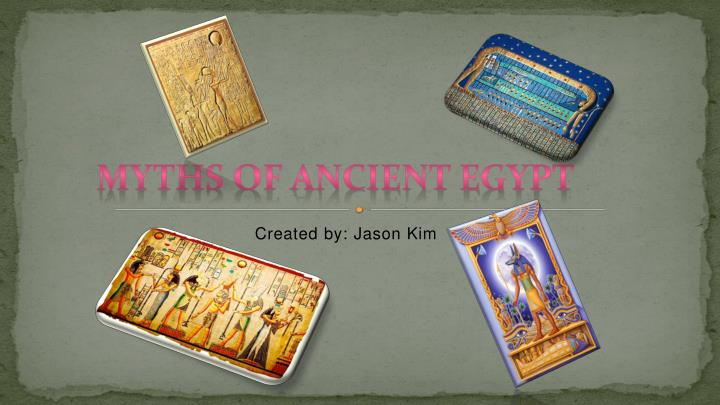 Myths of Ancient Egypt
