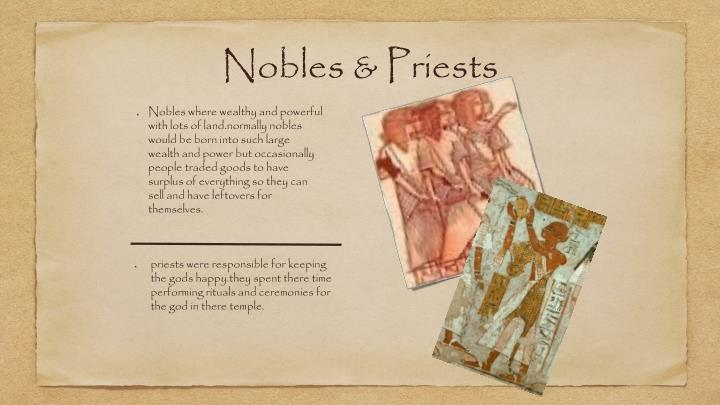 Nobles & Priests