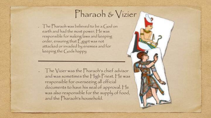 Pharaoh & Vizier