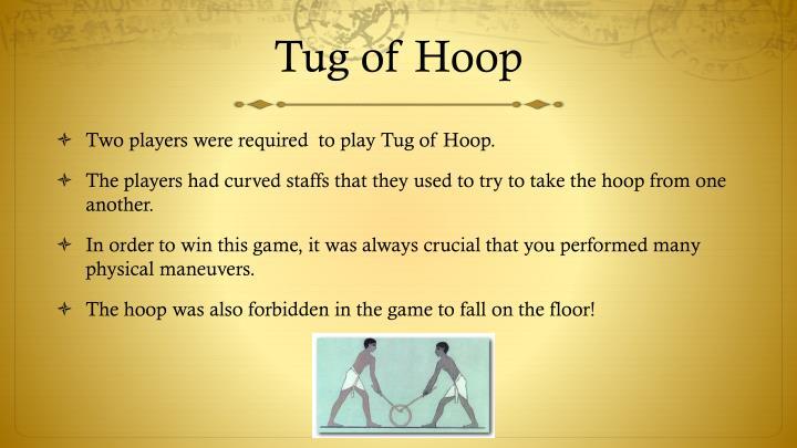 Tug of Hoop