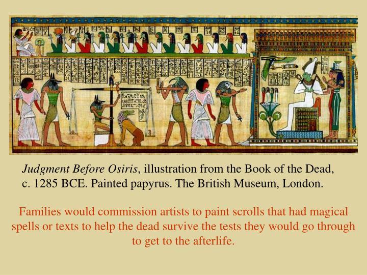 Judgment Before Osiris