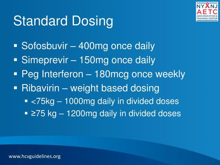 Standard Dosing