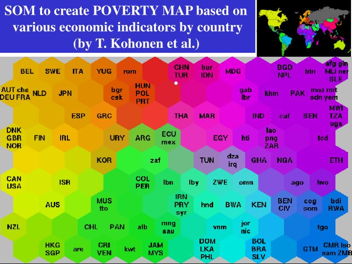 SOM to create POVERTY MAP based on