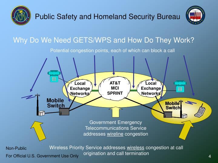 Public Safety and Homeland Security Bureau