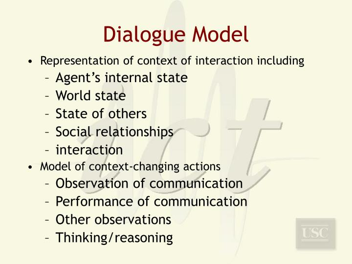 Dialogue Model