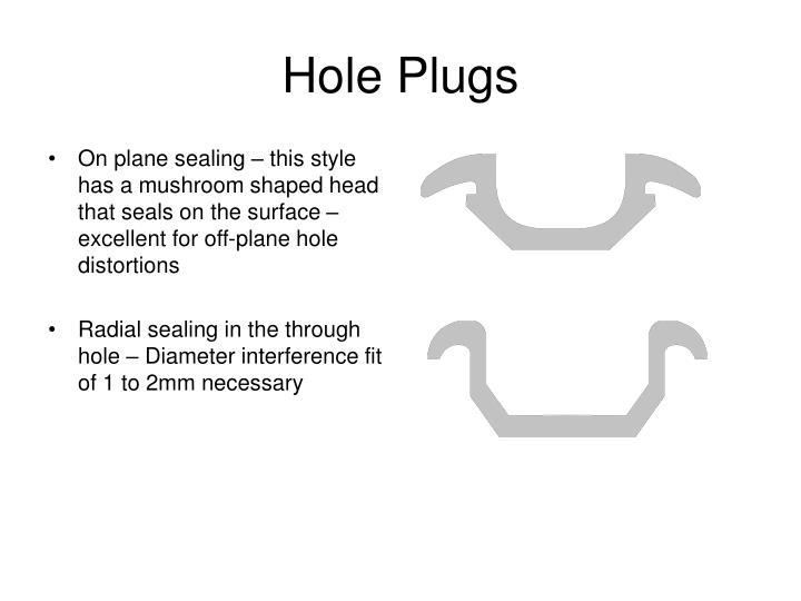 Hole Plugs