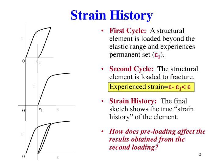 Strain History