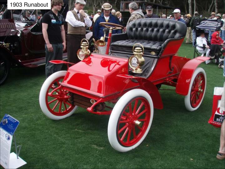 1903 Runabout