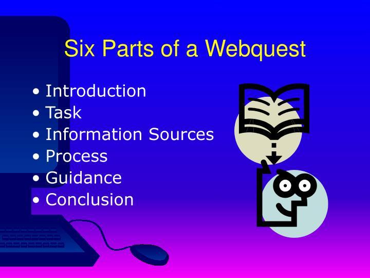 Six Parts of a Webquest