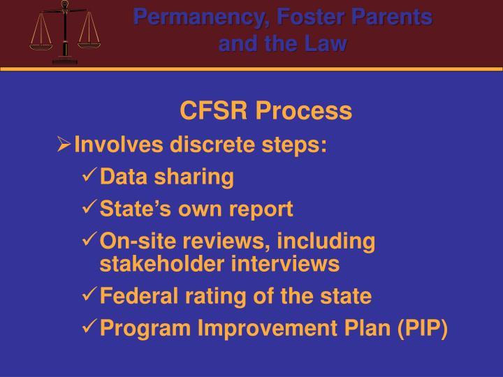CFSR Process