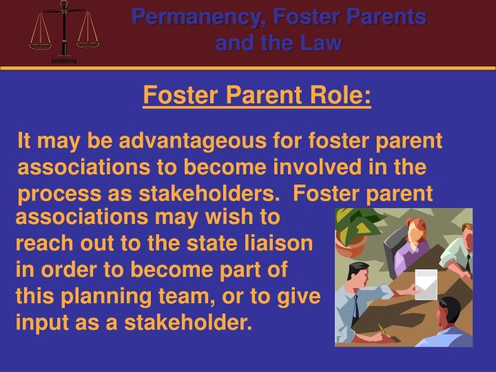 Foster Parent Role: