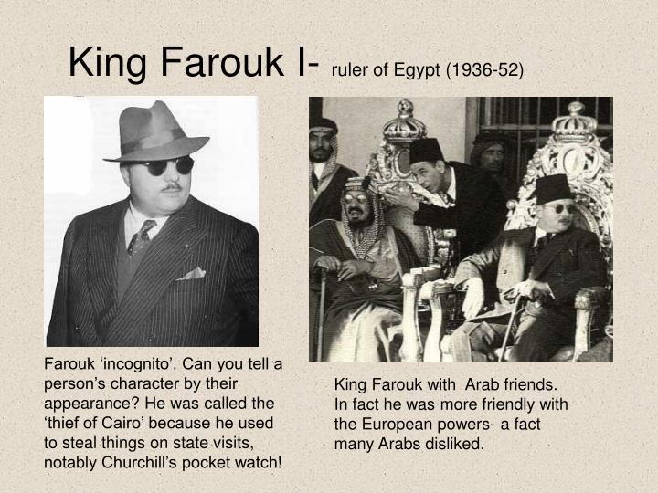 King Farouk I-