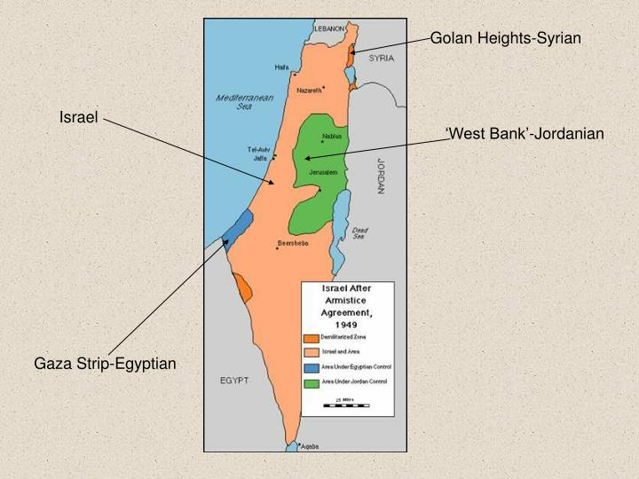Golan Heights-Syrian