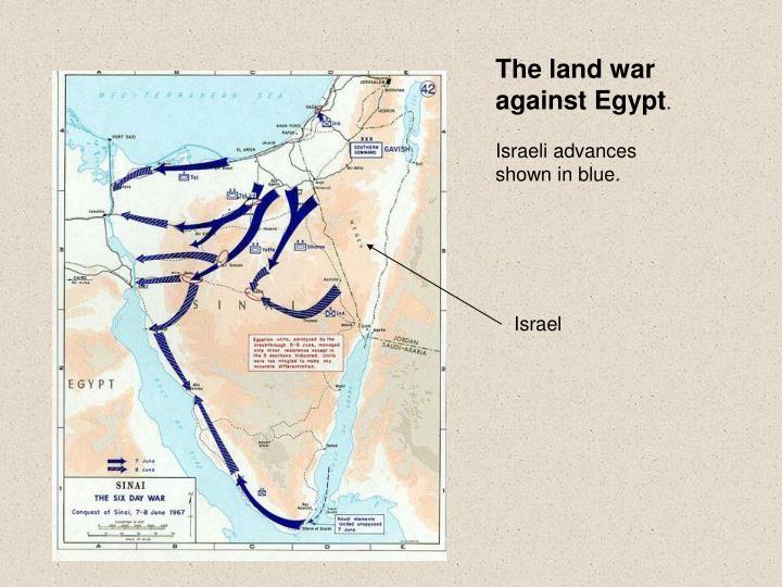 The land war against Egypt