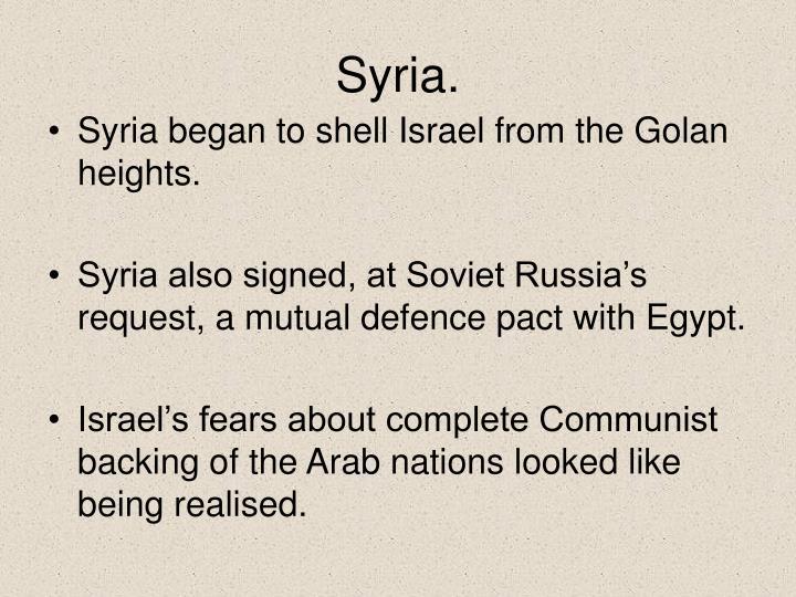 Syria.