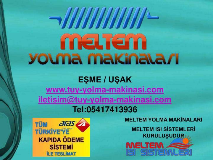 EŞME / UŞAK