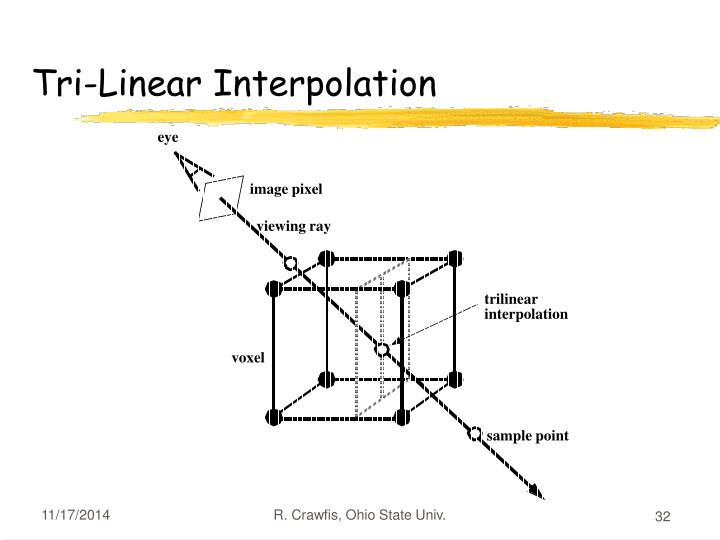 Tri-Linear Interpolation