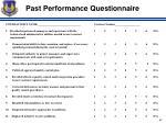 past performance questionnaire2