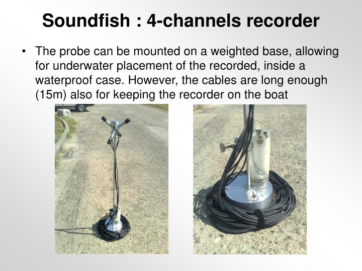 Soundfish : 4-channels recorder