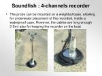soundfish 4 channels recorder