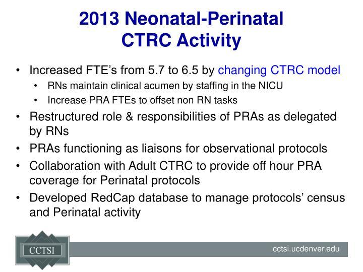 2013 Neonatal-Perinatal