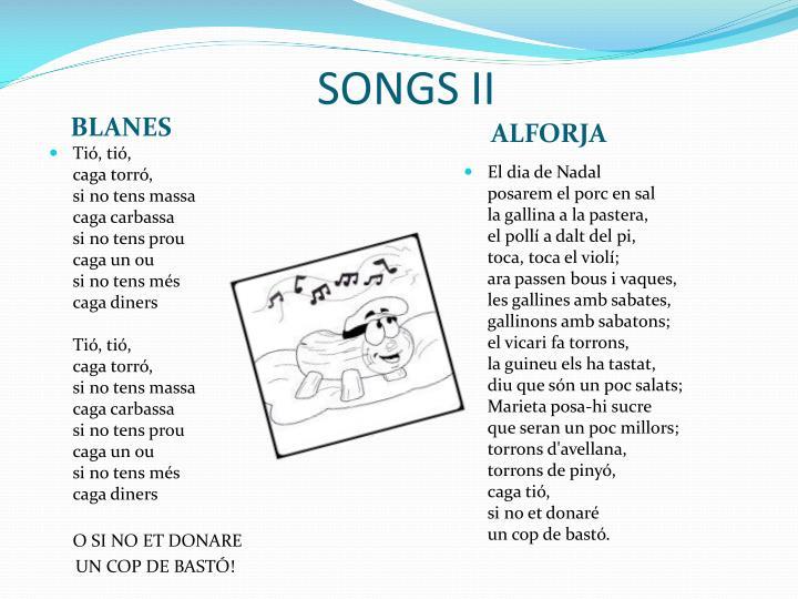 SONGS II