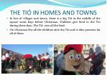 the ti in homes and towns