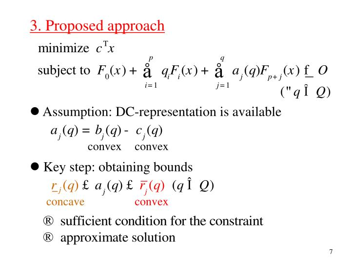 3. Proposed approach