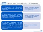 practical steps to accede to the tir convention1