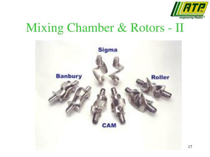 Mixing Chamber & Rotors - II