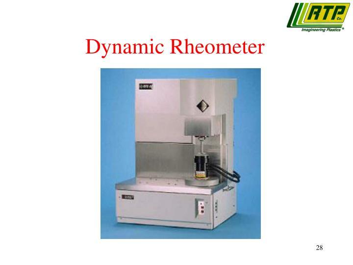 Dynamic Rheometer