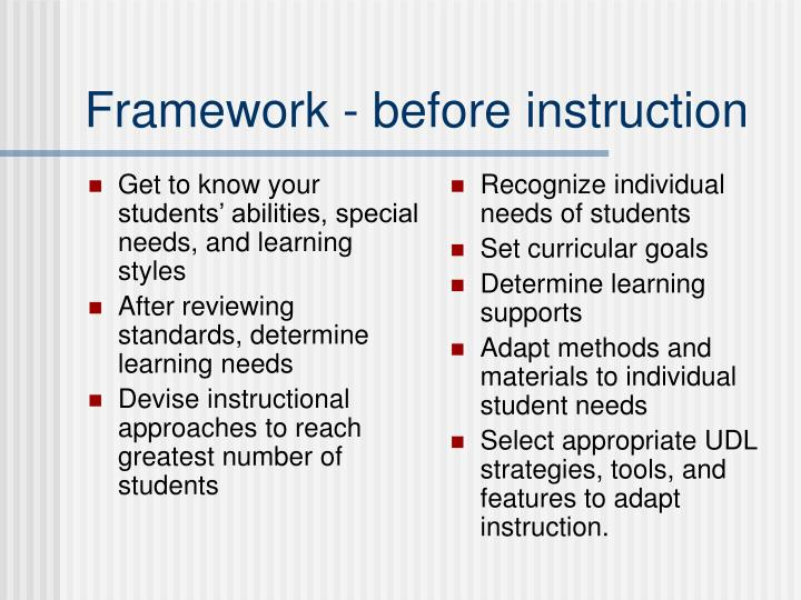 Get to know your students' abilities, special needs, and learning styles