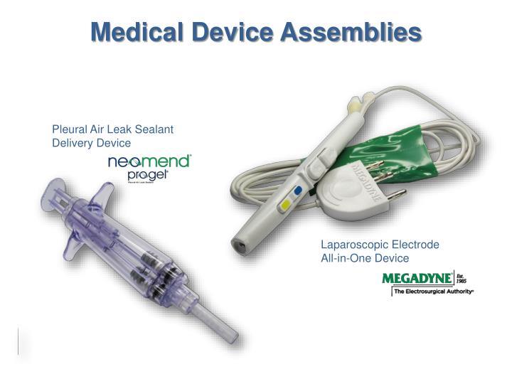 Medical Device Assemblies