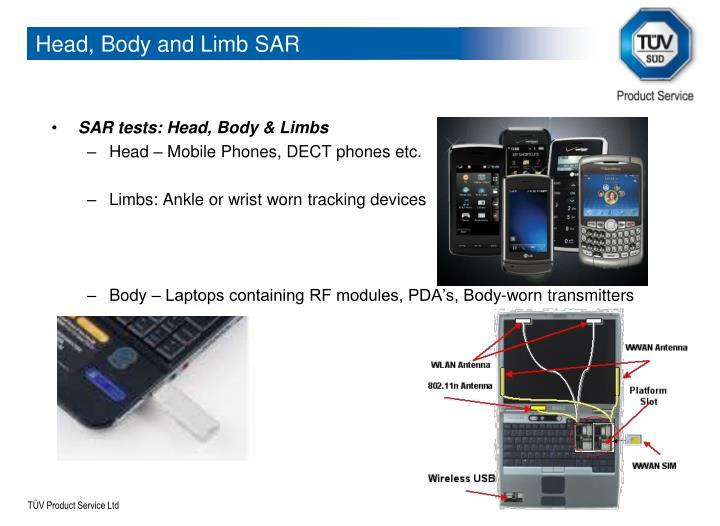 Head, Body and Limb SAR