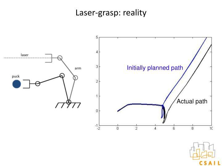 Laser-grasp: reality