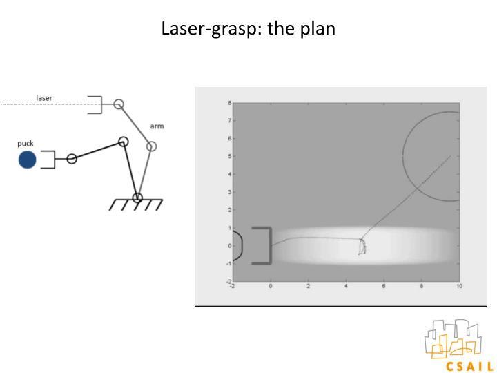Laser-grasp: the plan