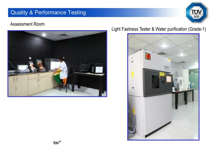 Quality & Performance Testing