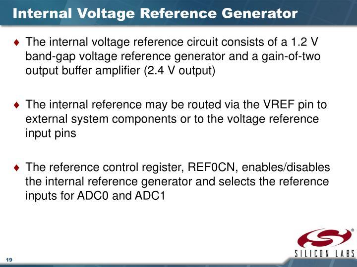 Internal Voltage Reference Generator