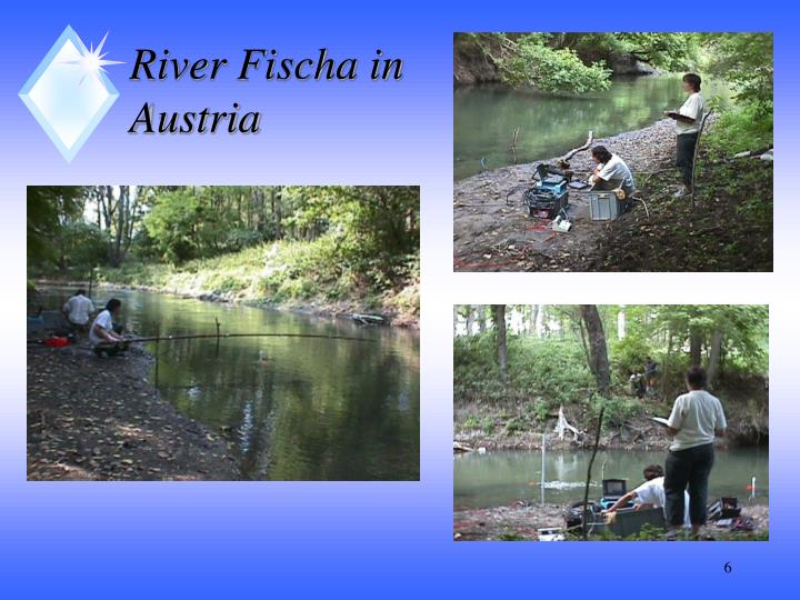 River Fischa in Austria