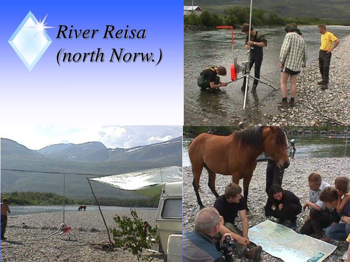 River Reisa (north Norw.)